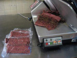 venison bacon
